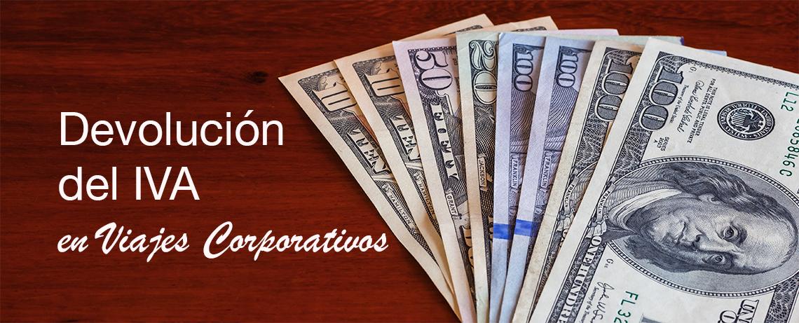 Devolución del IVA en Viajes Corporativos